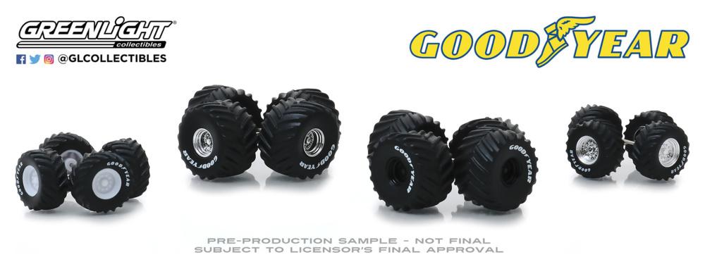 Auto Body Shop - Conjunto de llantas y neumáticos Series 2 -