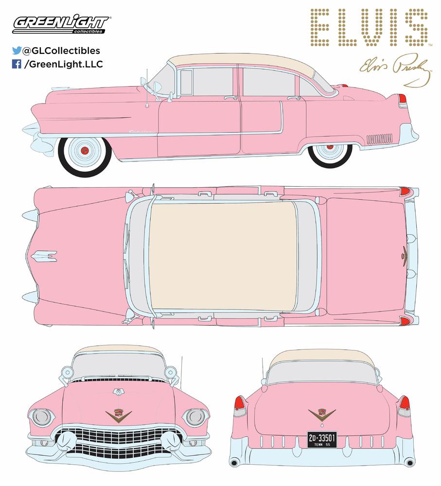 Cadillac Fleetwood Serie 60 Elvis Presley (1955