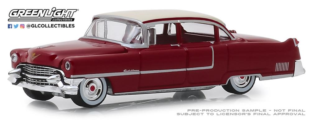 "Cadillac Fleetwood Series 60 ""Motor Medic"" (1955) Greenlight 1/64"