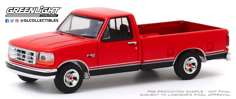 Ford F-150 - 75th (1992) - Anniversary Collection Serie 10 Greenlight 1/64