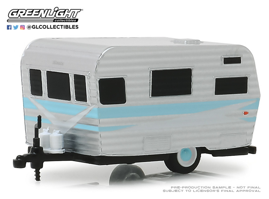 Remolque siesta travel (1959) Greenlight 1/64