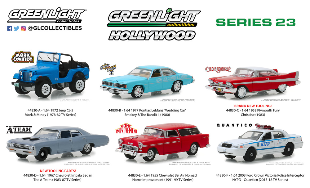 1955 Chevrolet Bel Air Nomad-Home Improvement 1:64 GreenLight 44830