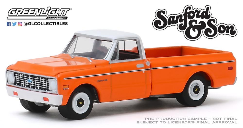 Sanford and Son (1972-77 TV Series) Chevrolet C-10 (1971) Greenlight 1/64