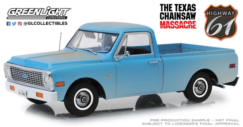 Chevrolet C-10 - La matanza de texas Highway 61 (1974) Greenlight 1/18