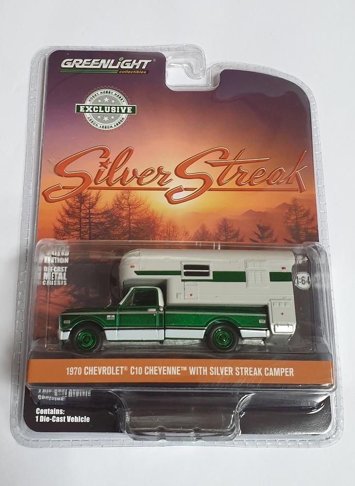 Chevrolet C10 Cheyenne Camper(1970) Greenmachine 1/64