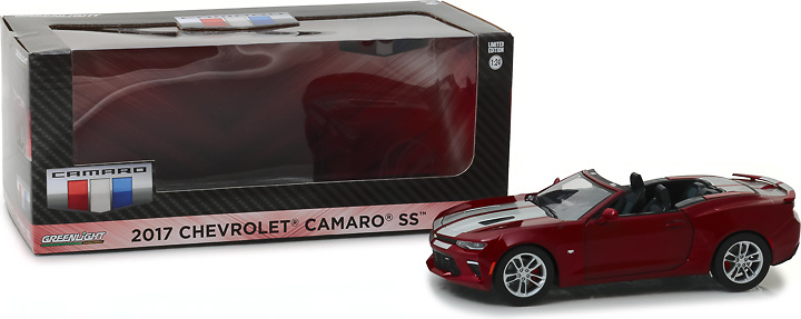 Chevrolet Camaro SS cabrio rojo (2017) Greenlight 1/24