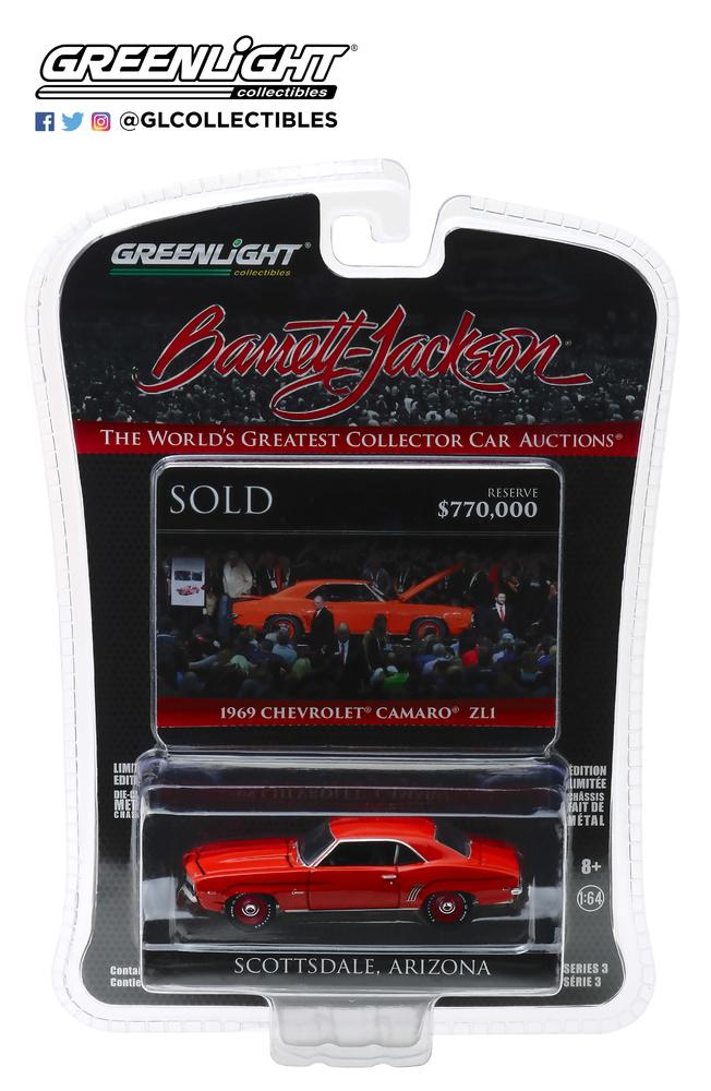 Chevrolet Camaro ZL1 - lote 1409 (1969) Greenlight 1/64