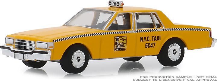 Chevrolet Caprice - Taxi Nueva York (1987) Greenlight 1/64