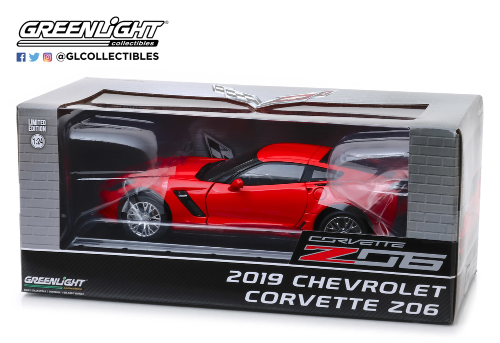Chevrolet Corvette Z06 Coupé (2019) Greenlight 18251 1/24