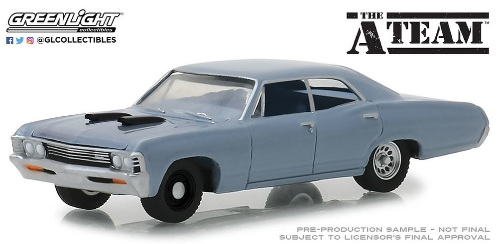 44830D The A-Team (1983-87 TV Series) - 1967 Chevrolet Impala Sedan