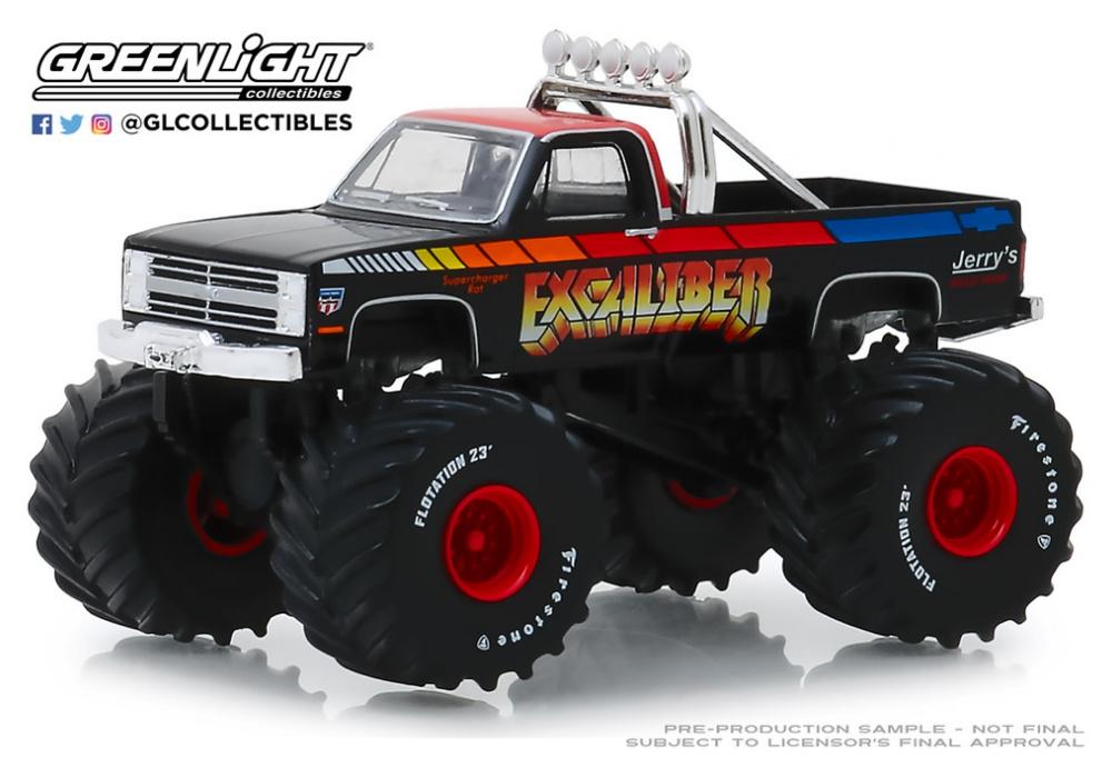 Chevrolet K20 Silverado - Monster Truck (1987)