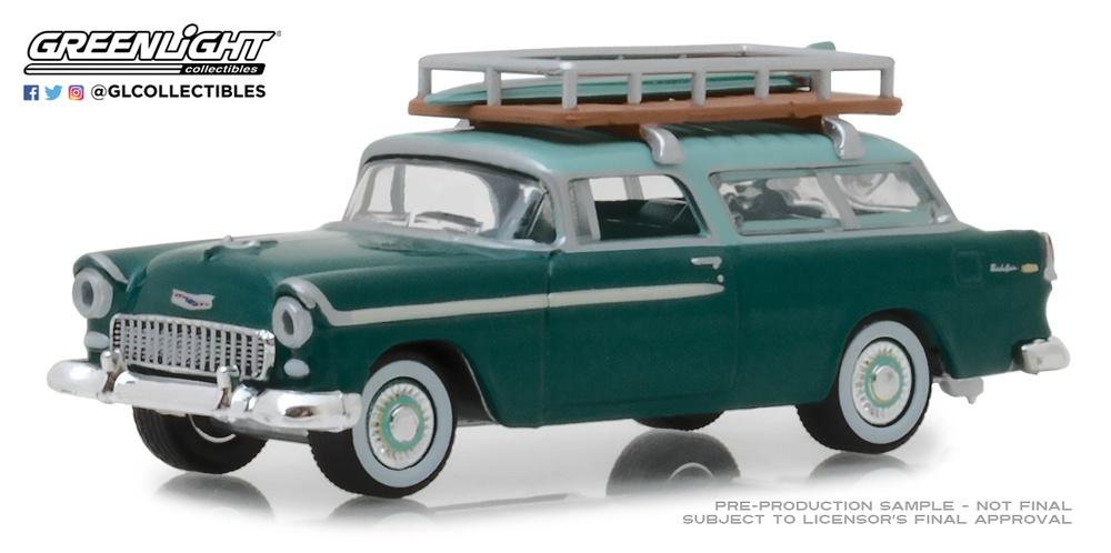 Chevrolet Nomad con baca (1955) Greenlight 29930-B 1/64