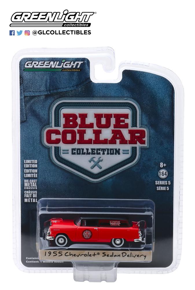 Chevrolet Sedan Furgoneta - Marvel Mystery Oil (1955) Greenlight 35120A 1/64