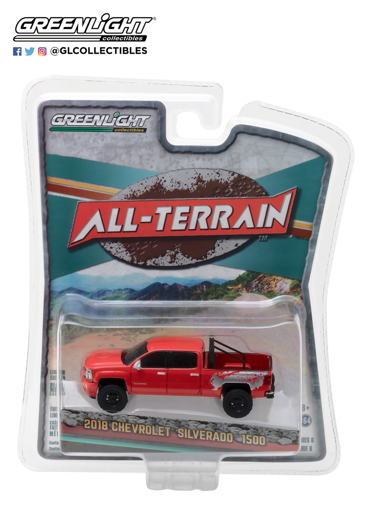 Chevrolet Silverado 1500 (2018) Greenlight 35090F 1/64