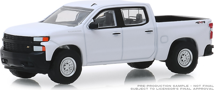 Chevrolet Silverado 1500 WT (2019) Greenlight 1/64