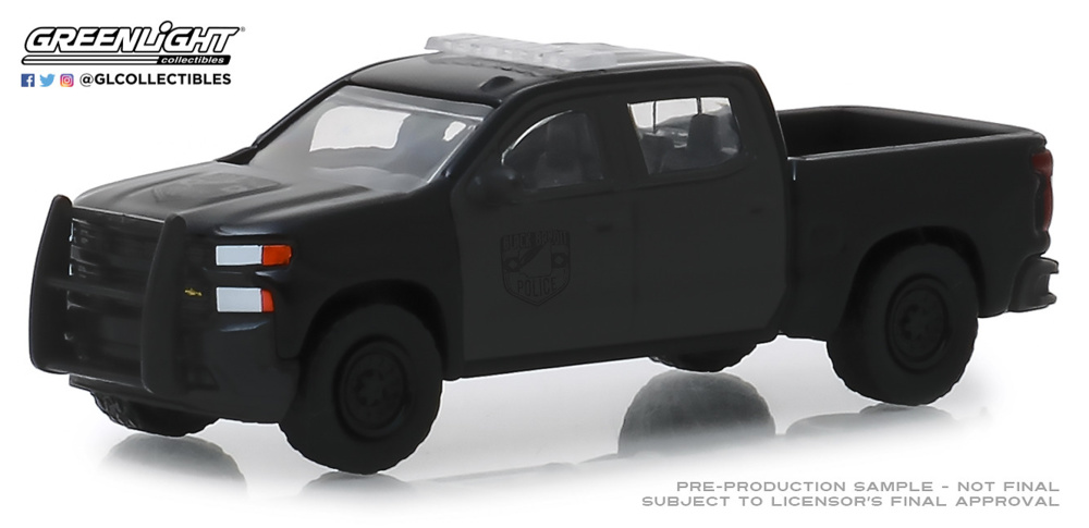 Chevrolet Silverado Serie Black Bandit 21 (2019) Greenlight 1/64