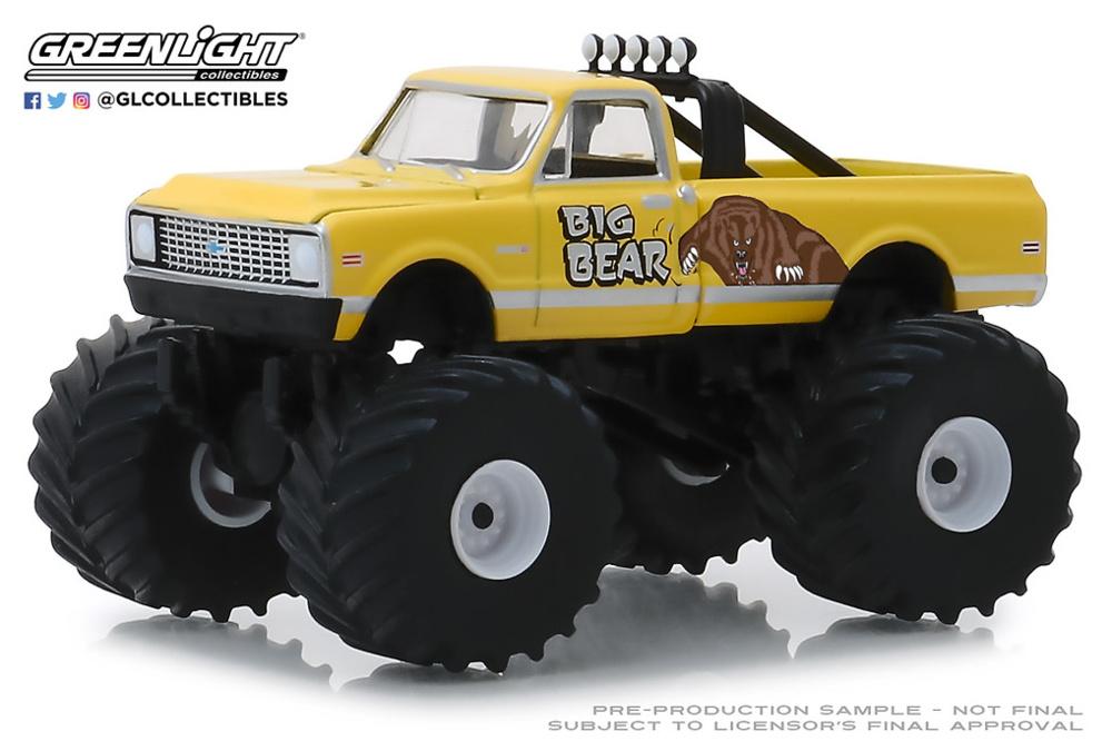Chevy C20 Cheyenne Monster Truck