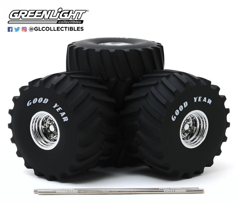 Conjunto de ruedas y neumáticos 66