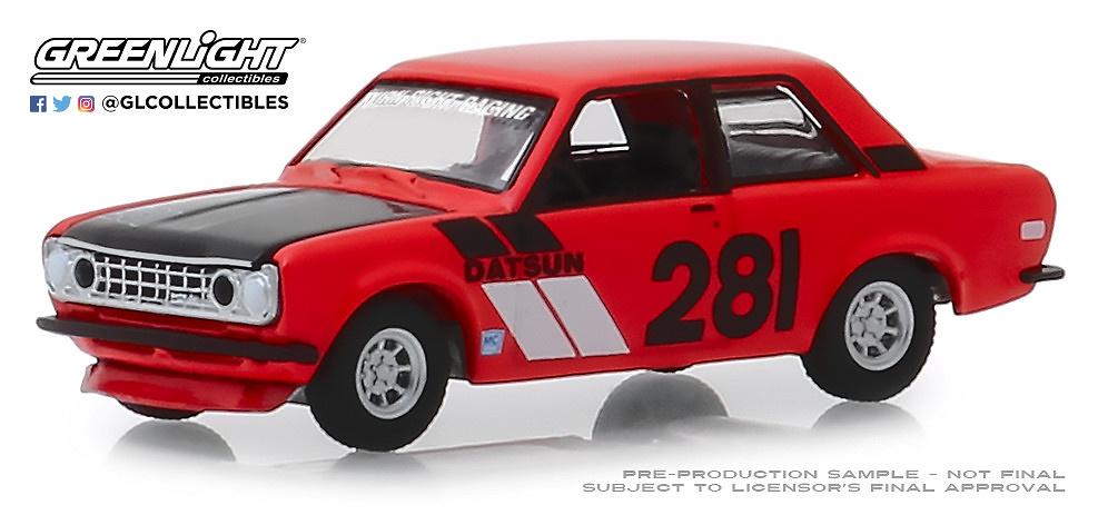 Datsun 510 #281 (1970) Tokyo Torque Greenlight 1/64