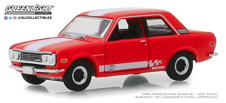 Datsun 510 Custom (1970) Greenlight 47030B 1/64