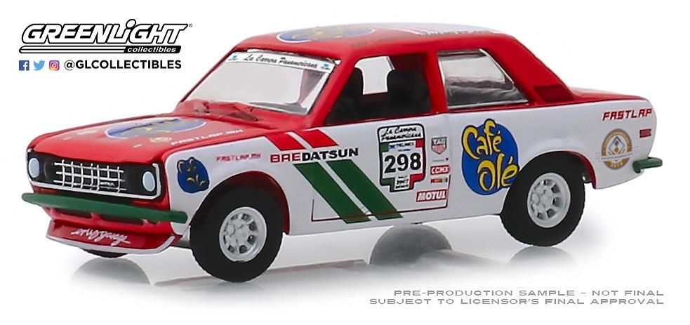 Datsun 510 nº 298 (1972) Greenlight 13240F 1/64