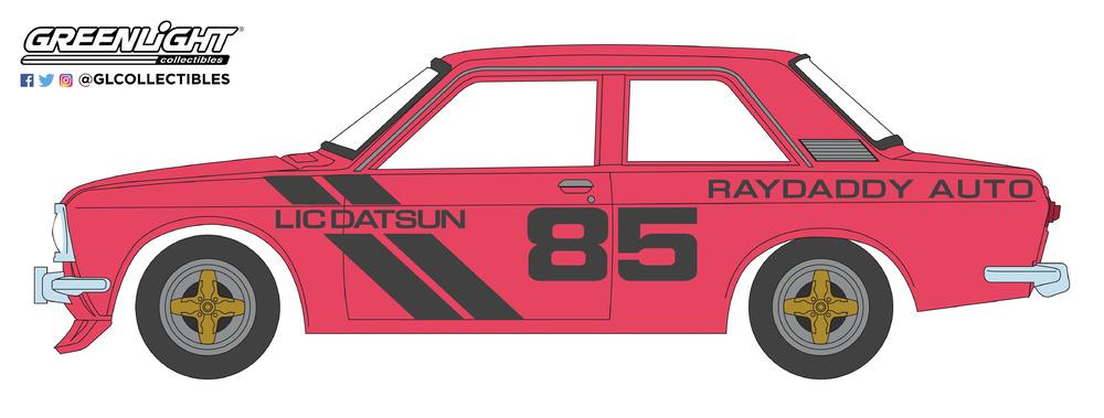 Datsun 510 nº 85 Raydaddy (1971) Greenlight 47010E 1/64