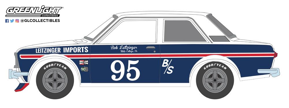Datsun 510 nº 95 Bob Leitzinger (1969) 47020A Greenlight 1/64