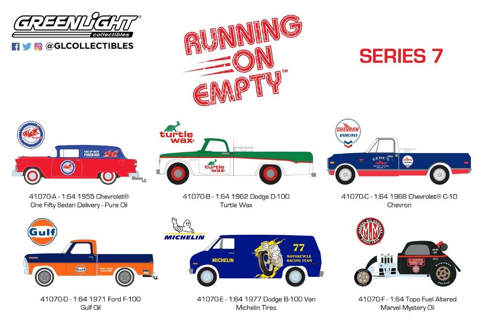 Running on Empty Serie 7 Greenlight 41070 1/64