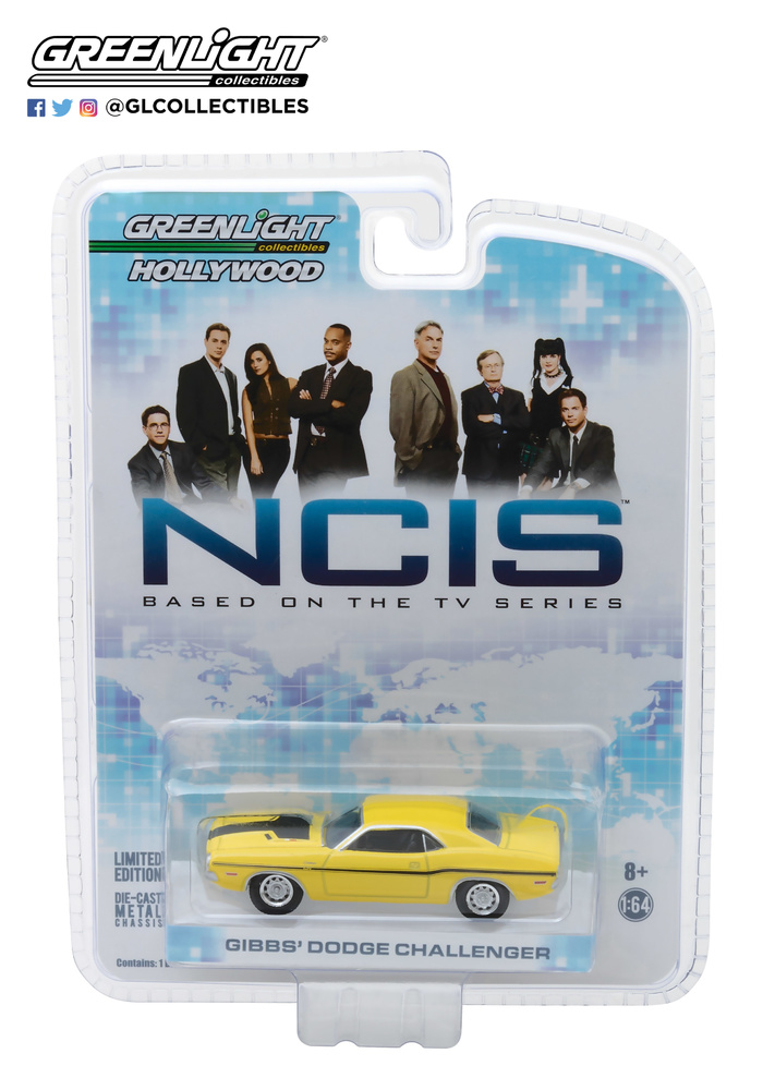 Dodge Challenger NCIS (1970) Greenlight 44620D 1/64