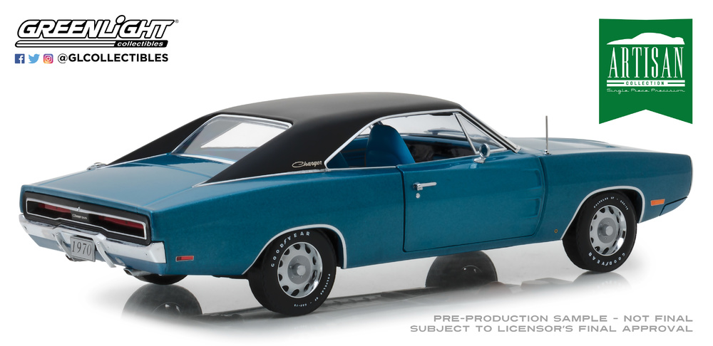 Dodge Charger 500 SE B5 (1970) Greenlight 13530 1/18