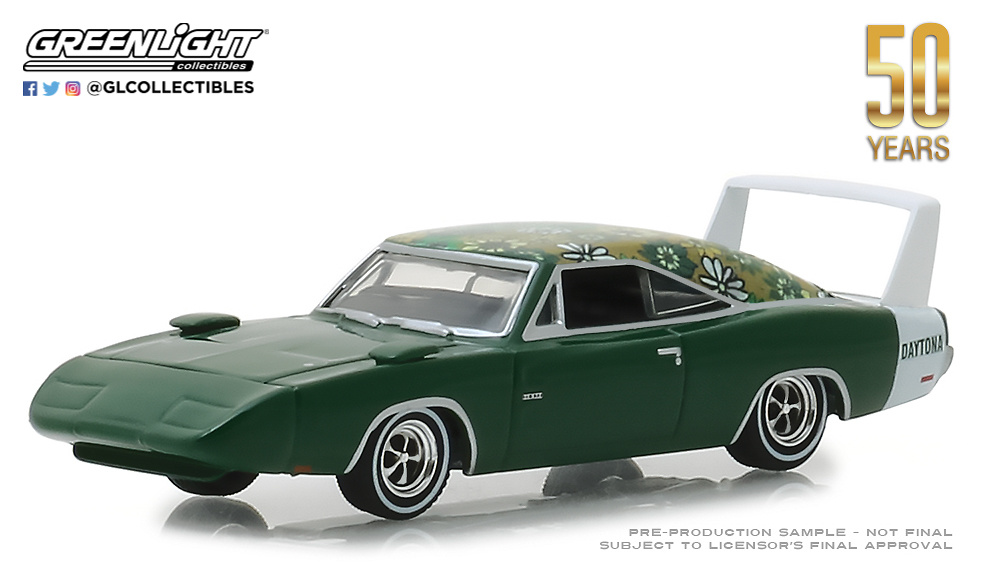 Dodge Charger Daytona (1969) Greenlight 27970B 1/64