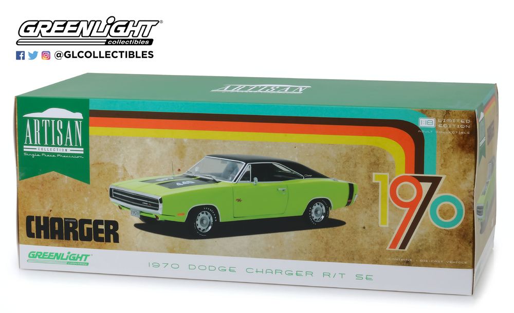 Dodge Charger R/T SE (1970) Greenlight 13529 1/18