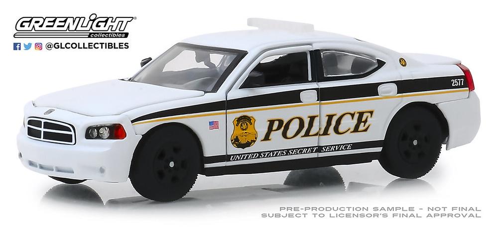 Dodge Charger Unidad de Servicio Secreto (2006) Greenlight 1/43