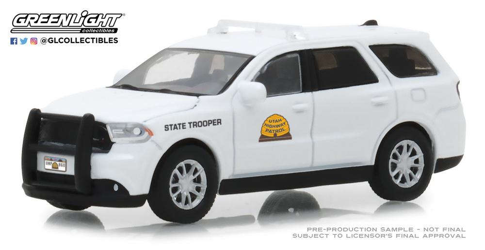 Dodge Durango Utah Highway Patrol (2017) 42860E Greenlight 1/64