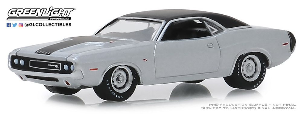 Dodge HEMI Challenger R/T - 426 HEMI (1970) Greenlight 1/64
