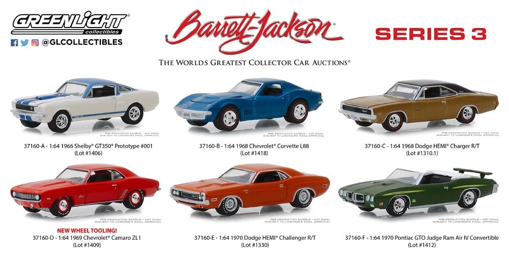 1970 Chevrolet Camaro Mr Bardahl   Racing  **** Greenlight 1:64 OVP