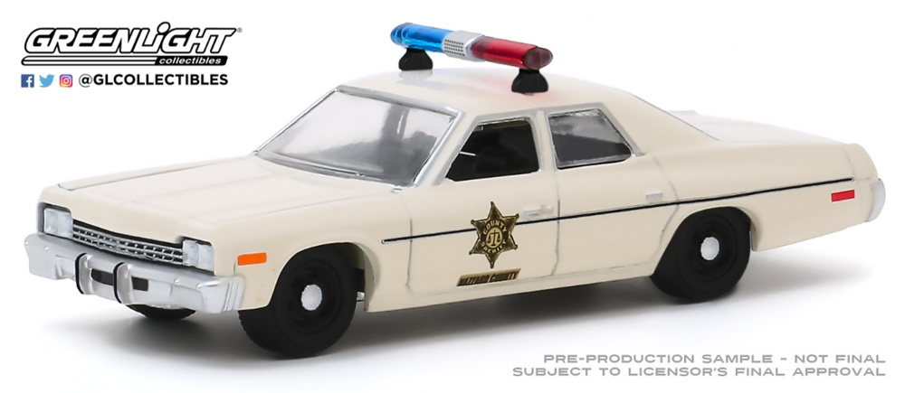 Dodge Mónaco Hazzard County Sheriff (1975) Greenlight 1:64