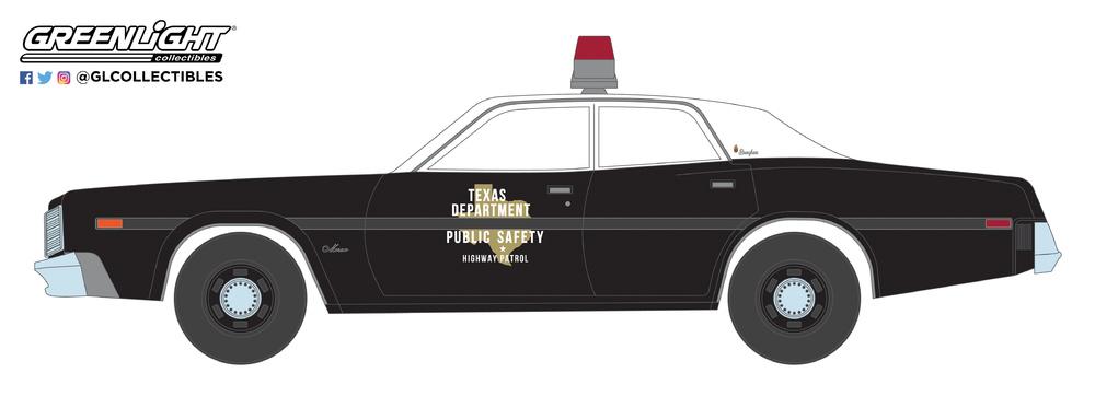 Dodge Monaco - Texas Highway Patrol (1977) Greenlight 1/64