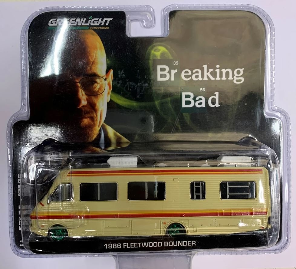 Fleetwood Bounder RV (1986) Serie TV Breaking Bad Greenlight 33021 escala 1/64