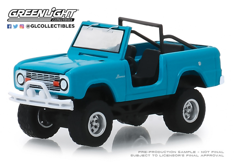 Ford Bronco (1967) Greenlight 1/64