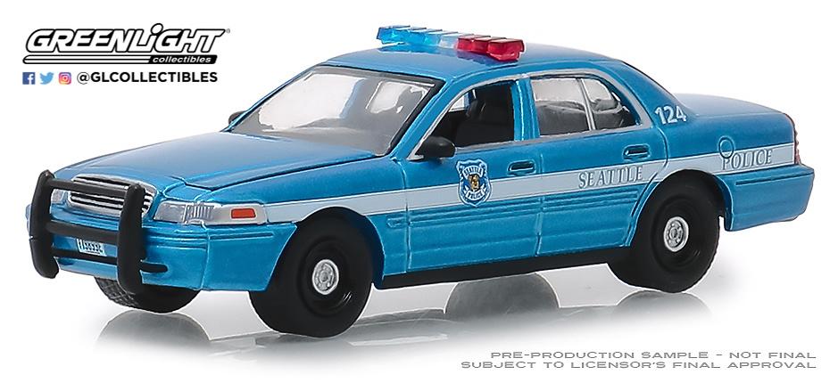 Ford Crown Victoria Interceptor - Policía de Washington (2010) Greenlight 1/64