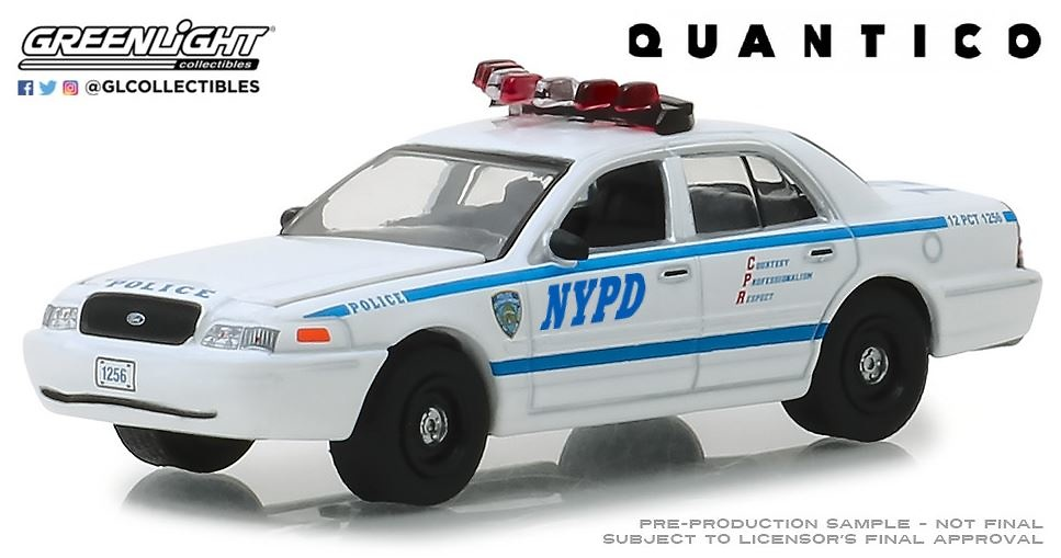 44830F Quantico (2015-18 TV Series) - 2003 Ford Crown Victoria Police Interceptor New York City Police Dept (NYPD)