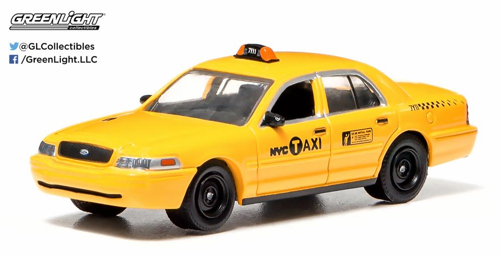 Ford Crown Victoria Taxi Nueva York (2011) Greenlight 29773 1/64
