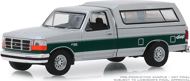 Ford F-150 XLT con caravana (1996) Greenlight 1/64
