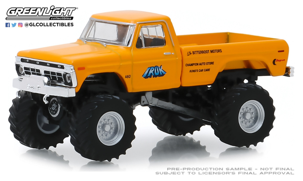 Ford F-250 Monster (1977) Greenlight 1/64