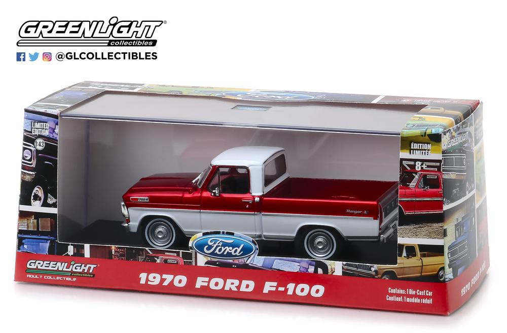 Ford F100 (1970) Greenlight 86318 1/43
