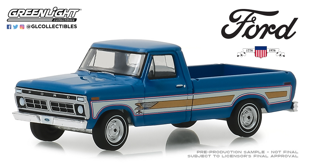 Ford F100 Bicentenario (1976) Greenlight 29966 1/64