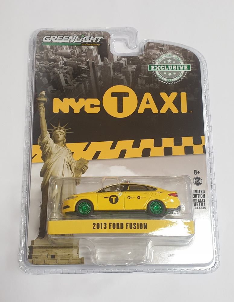 Ford Fusion Taxi Nueva York (2013) Greenmachine 1/64