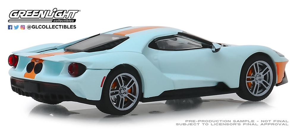 Ford GT Heritage Gulf Oil Color (2019) Greenlight 1:43