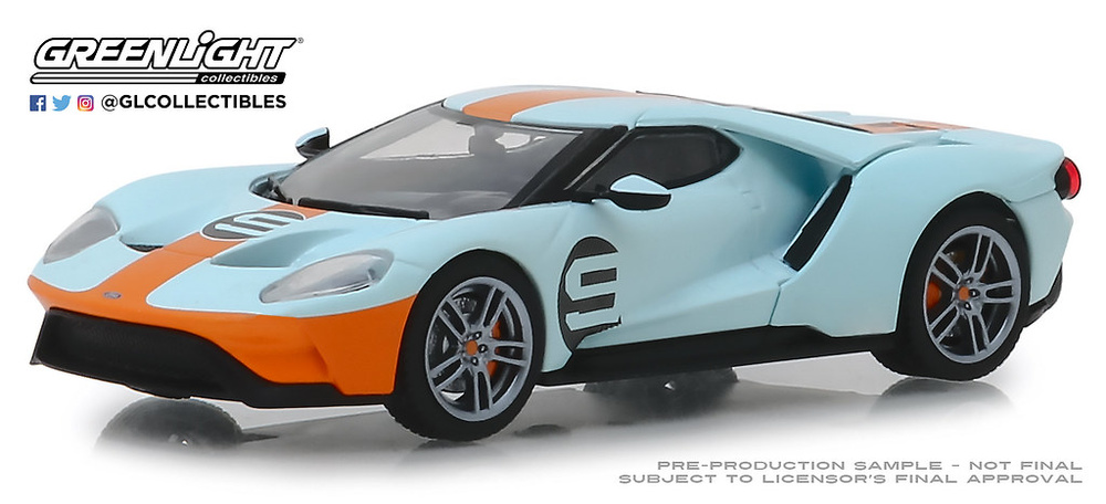 Ford GT Heritage #9 (2019) Greenlight 1/43